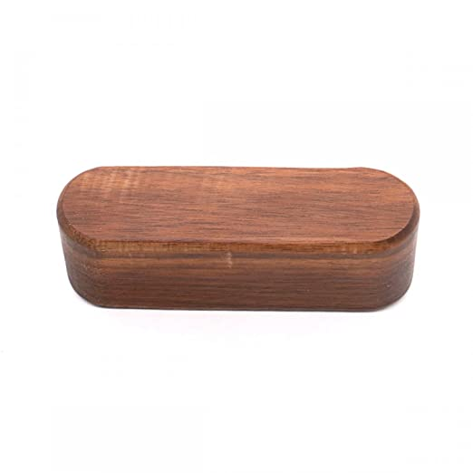 muhuyi wood business card display holder wooden name card stand for