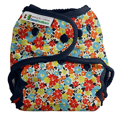 Bigger Best Bottom Cotton Diaper - Snap - Fancy Pants - Made In The USA