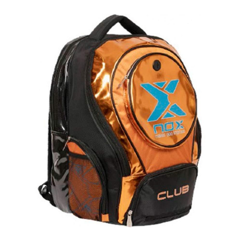 NOX Mochila Club Naranja: Amazon.es: Deportes y aire libre