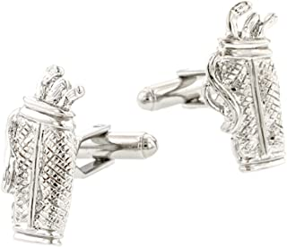 product image for JJ Weston Golf Bag Cufflinks. Made in The USA.