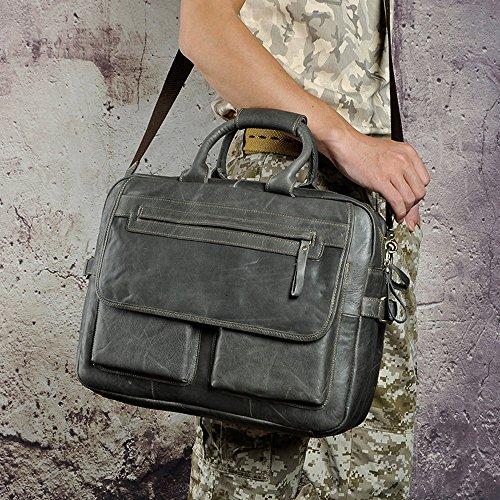 Laptop Style Véritable Vintage Hommes Business Serviette En Cuir documents 130 Sac Messenger Fourre tout Porte Sacs Cowocc Cases Aq7xw087