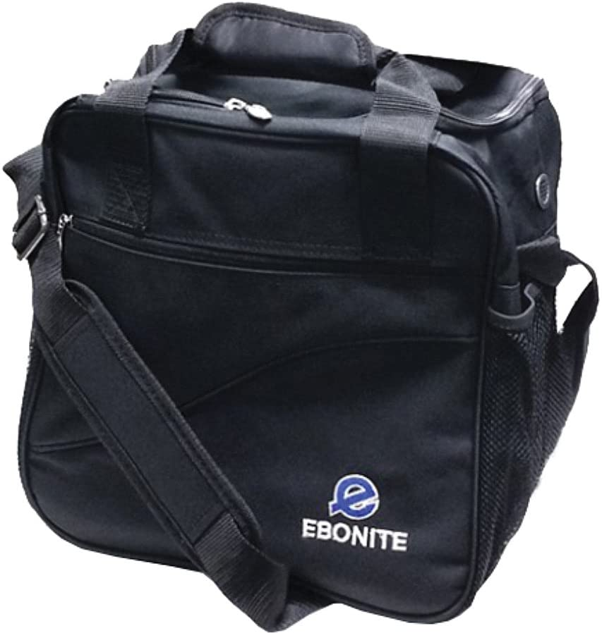 Black Ebonite Bowling Ball Single Ball Bag Tasche Escort