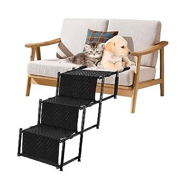 Amazon.com: Escalera de escalera de coche para mascotas ...
