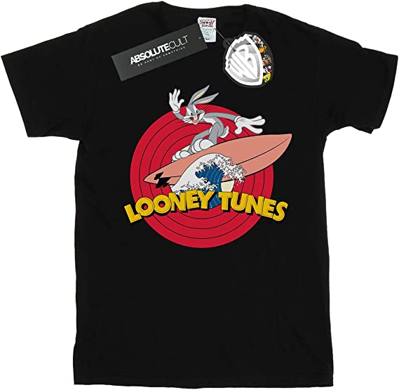Looney Tunes Bugs Bunny Surfing T-shirt for Women