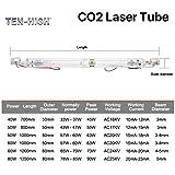 Ten-high AC110V Glass Laser Tube 60W CO2 1000mm