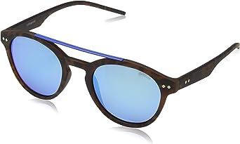 Polaroid PLD 6030/S 5Z N9P gafas de sol, Marrón (Matt Havana/Grey Mlt Green), 50 Unisex-Adulto