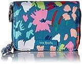 Vera Bradley Lighten Up RFID Card Case, Polyester, Superbloom Sketch