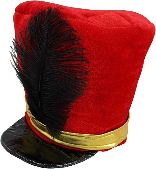 fc3ac0305c1 Amazon.com  Band Major or Toy Soldier Hat Costume