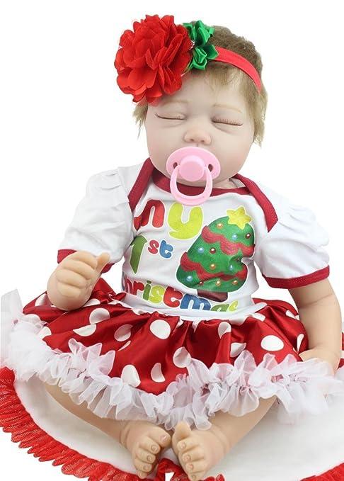 Amazon.es: Fashion muñeca 22 cm Bebé Reborn de Reino Unido silicona ...