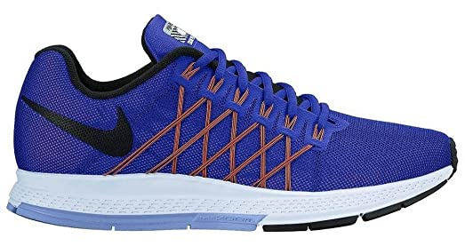 Wmns Air Zoom Pegasus 32 Flash Womens Running Shoes, RACER BLUE/BLACK-HYPER