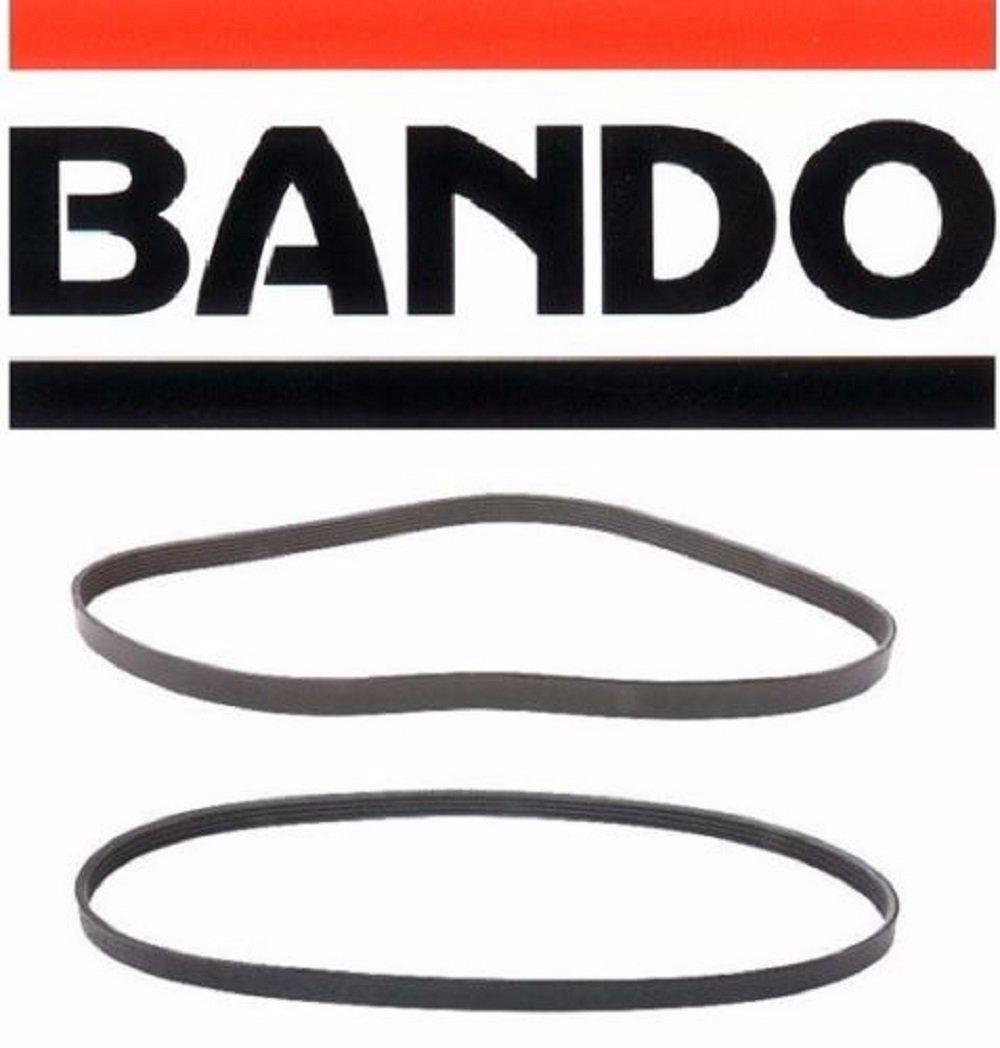 Bando Accessory Drive Belt Kit Subaru Legacy Outback 25 2000 Fan 25l 1998 2004 Alternator Air Conditioner Power Steering Set2 Beltsbando 4pk895