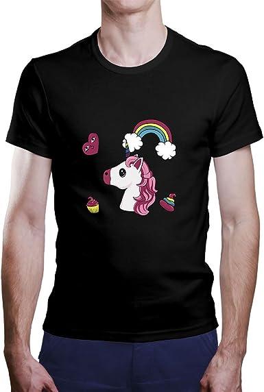 OKAPY Camiseta Unicornio. Una Camiseta de Mujer con