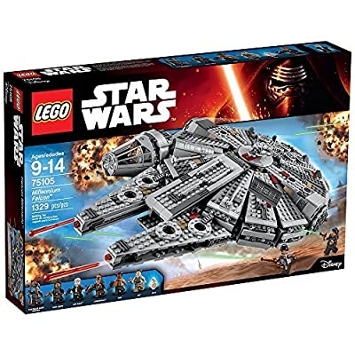 LEGO STAR WARS Millennium Falcon 75105: Toys & Games