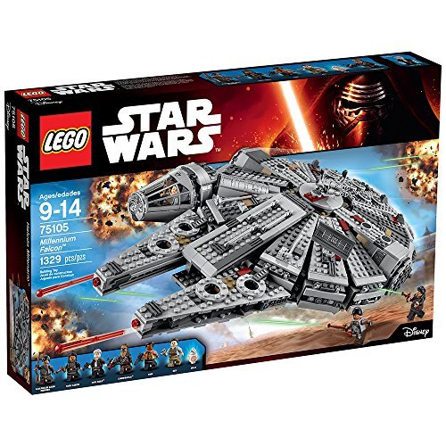 Travel the galaxy with Han Solo, Chewbacca and others in the iconic Millennium Falcon! Aim for the stars with the Millennium Falcon featuring streamlined design, detachable cockpit, spring-loaded shooter, holochess board and lots more. One of...
