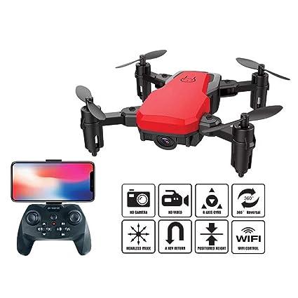 Quadcopter con cámara plegable selfie Drone titular Altitud Sin ...