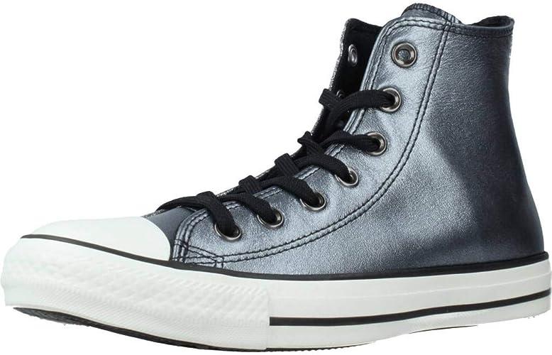 black sparkle high top converse