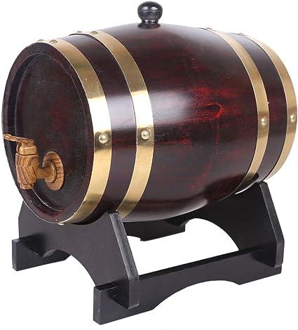 Barril de Vino de Madera Barril de Roble Dispensador de ...