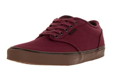 3fcc22f06ab4 Vans Men s Atwood (12 oz Canvas) Cordovan Gum Skate Shoe 7.5 Men US