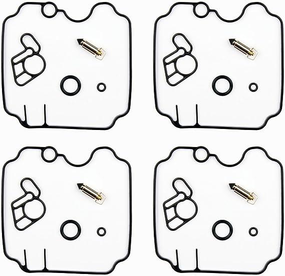 4x Vergaser Reparatursatz Dichtung Kit Passend Für Yam Xj 600 Nh Sn Diversion Auto