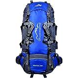 Gohyo Backpack Internal Frame 80L Lightweight for Camping Backpacking Hiking Travel