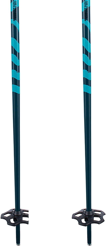 135 cm /— 10E3040 K2 Sci Unisex Bastoncini da sci per adulti Flipjaw Freeride 135 Midnight /— Midnight /— Lunghezza 115