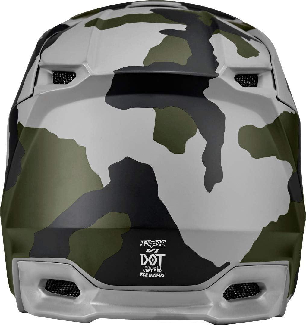 Fox Mens V1 Przm Camo Se Helmets L