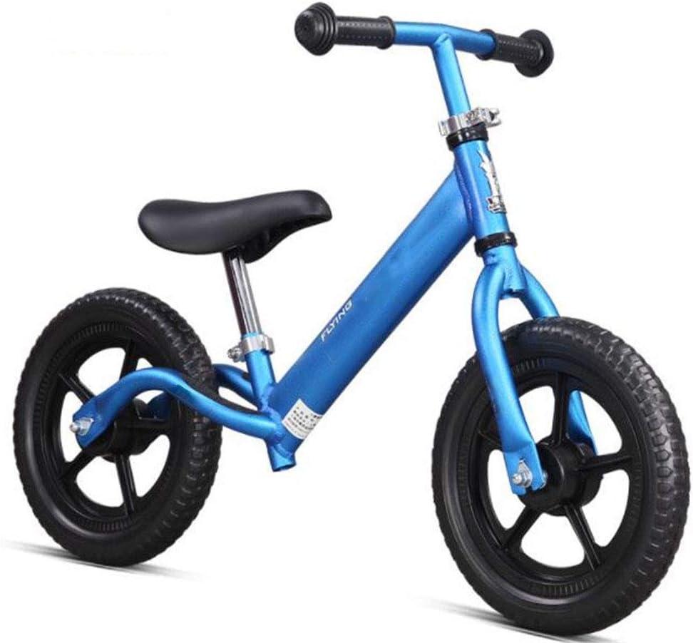 XRQ Bubble Tire Balance Car 2-6 Años Bebé Scooter Niños Scooter Niños Juguete Al Aire Libre Coche Niño Niña Puede Jugar,Azul