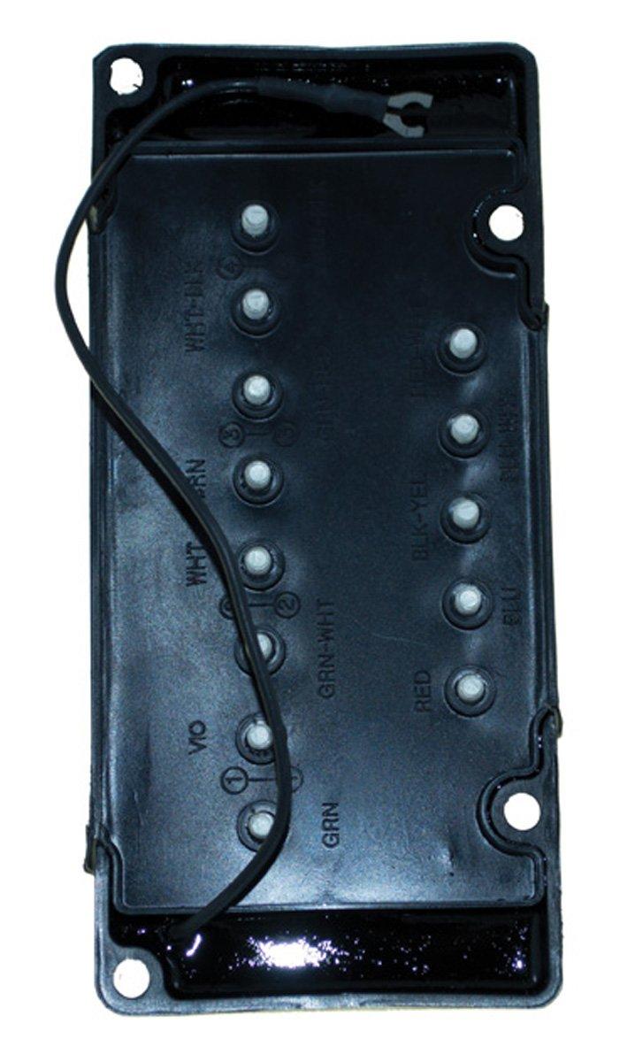 Mercury Switch Box 4 Cyl 115 Hp 1989 - 1997 Model 16 Amp Serial# 0C100000 - 0G437999 WSM 114-5772 OEM# 18-5881, 332-5772A 1, 332-5772A 2, 332-5772A 3, 332-5772A 4, 332-5772A 5