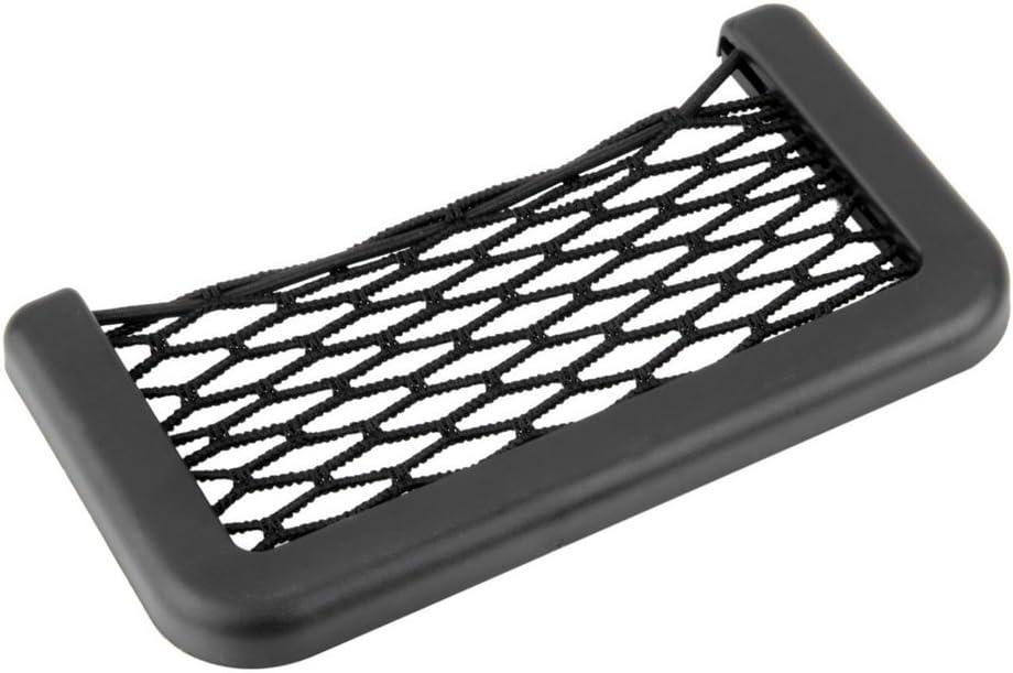Car Net Bag Car Organizer Nets 15X8cm Automotive Pockets With Adhesive Visor Car Bag Storage For Tools Mobile Phone