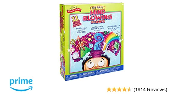 Perfect For Boys Toys Age 8 : Amazon.com: scientific explorer my first mind blowing science kit