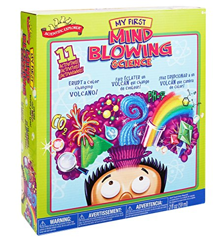Mind Blowing Science Kit is a popular cool toy for girls and boys