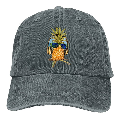 VPausy Pineapple DJ Cool Sunglasses Snapback Adjustable Baseball Cap Mom Dad - Sunglasses Dj 58