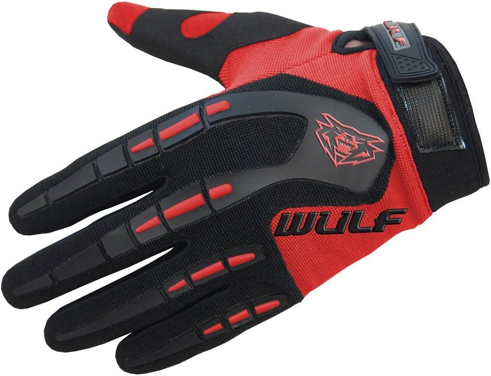 3XS Rouge Wulfsport Enfants Attaque Moto Motocross Gants Junior Off Eoad Trial VTT