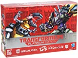 "Buy ""Transformers Platinum Edition Grimlock Vs. Decepticon Bruticus Figure Pack"" on AMAZON"