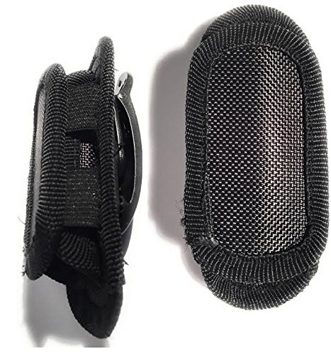 With Rotating Clip And Strectch Capability Heavy Duty Pouch Flashlight Holder DAX Industries Universal Nylon Flashlight Holster For Belt Durable