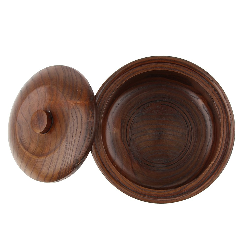 MagiDeal Natural Bamboo Handcraft Solid Nut/Fruit Bowl Rice Box With Matching Lid by Unknown (Image #7)