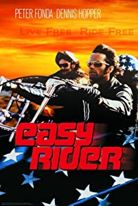 24x36 Poster Print Easy Rider - Live Free Ride Free