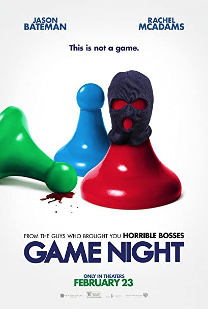 Amazon Com Game Night Movie Poster 2 Sided Original 27x40