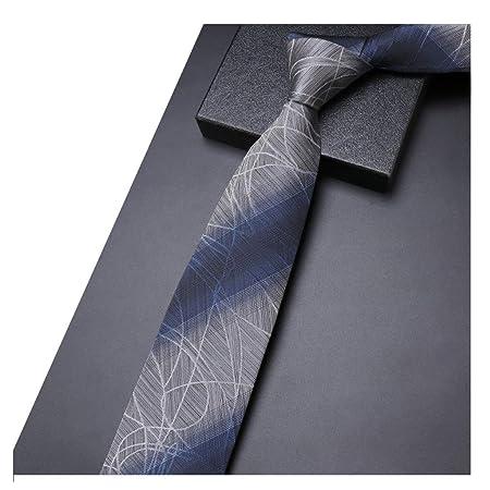SGLI Corbata de Boda para Hombre Negocio Corbata Formal Seda ...