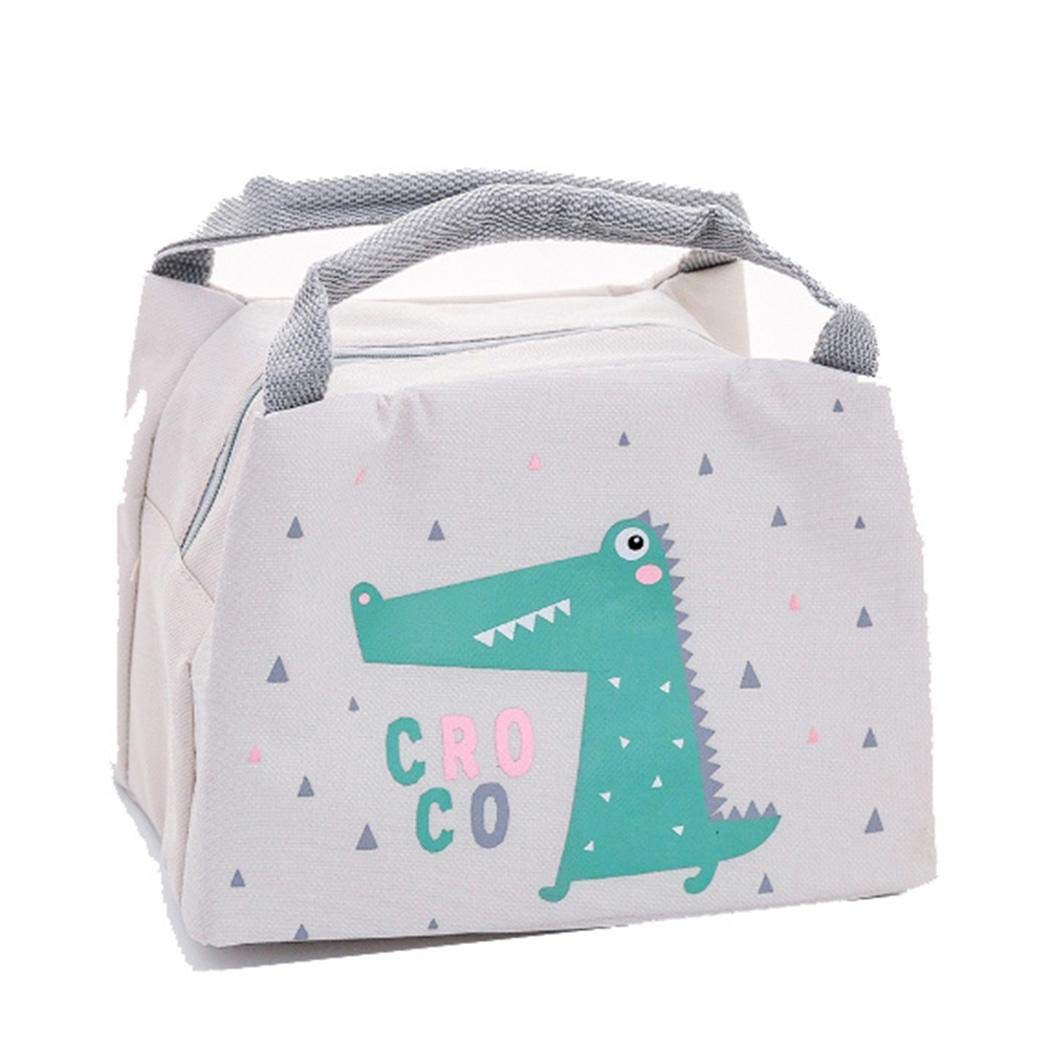 Fanala Hand-held Creative Insulation lunch Bag Tote Student Thermal lunch Bag Lunch Bags by Fanala