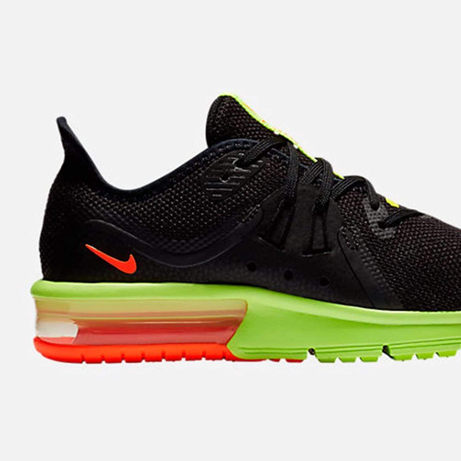 Details about Boys Nike Air Max Sequent 3 GS 922884 007 Girls Trainers White Ladies Gym Shoes