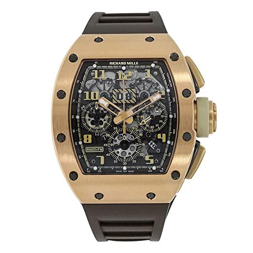 Richard Mille RM 011 Automatic-Self-Wind RM011 - Reloj para Hombre (Certificado