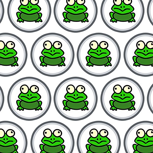 Premium Gift Wrap Wrapping Paper Roll Reptiles Lizards Snakes Frogs - Frog Toad