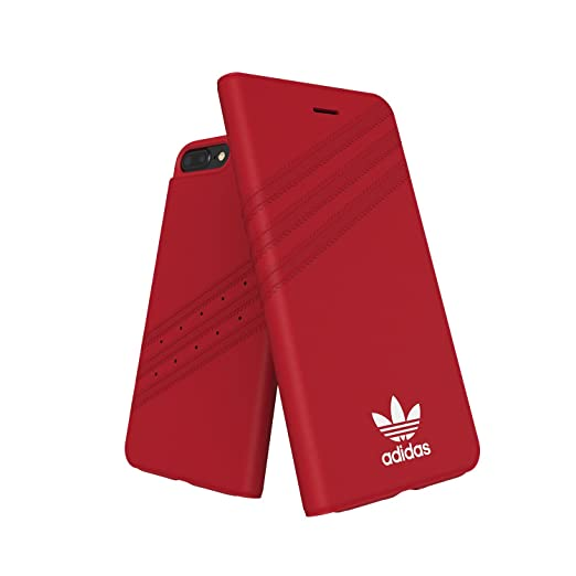 adidas Originals - Booklet Case iPhone 6/6s/7/8 Plus Red ...