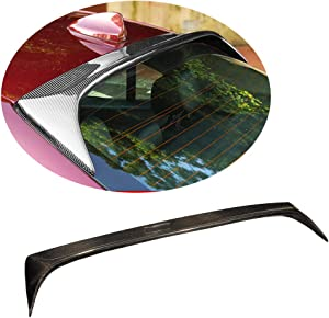 MCARCAR KIT Roof Spoiler fits Alfa Romeo Giulia Sedan 2017-2019 Factory Outlet Auto Carbon Fiber CF Rear Window Top Wing Lip