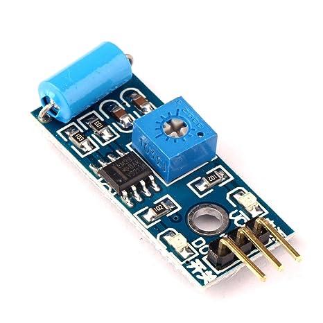 Solu SW-420 módulo Sensor de movimiento con alarma de vibración//SW-