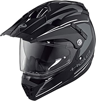 Held alcatar Enduro casco Blanco y negro Talla:XS (53/54)