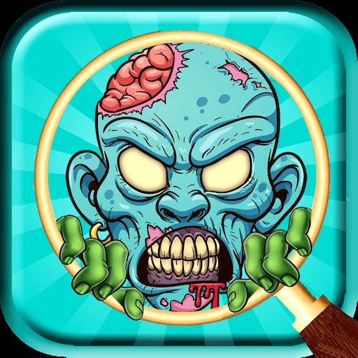 Halloween Hidden Object 2018 : Zombie Puzzle ()