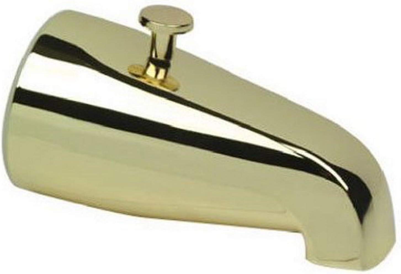 B000BPC2DC DELTA FAUCET 345-116 Master Plumber Polished Brass Diverter Tub Spout 61URAesuziL