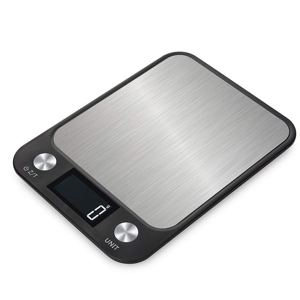 Frog Fun® 2019 On.Sale | Digital Multifunction Kitchen and Food Scale Black with Premium Stainless Steel